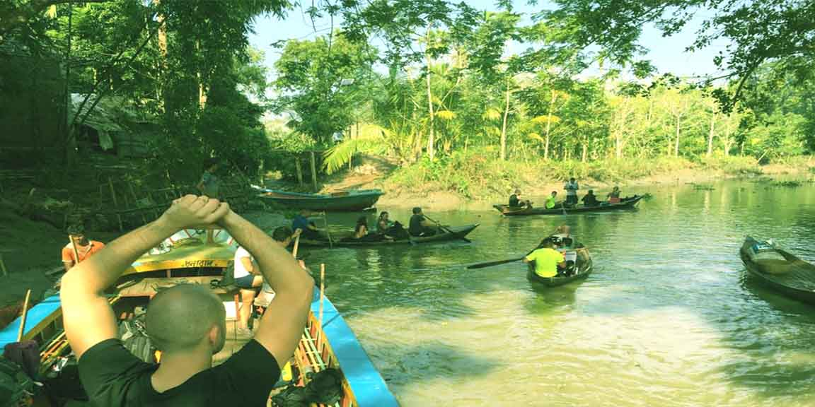 floating market and sundarban tour